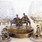 Pavel Zaitsev miniature bronze sculpture