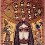 Exquisite Russian Icon Embroidery art