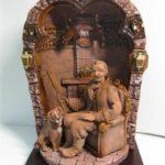 Dmitry Puchkov exquisite terracotta sculpture