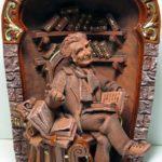 Russian folk wooden toys
