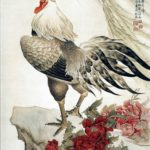 spurs on the legs of rooster talk about boldness and courage, warlike nature