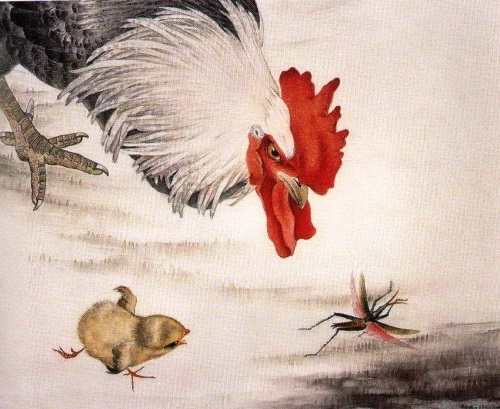 the main symbol of the element Yang - Rooster