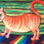 Ginger. Oil on cardboard. 1997