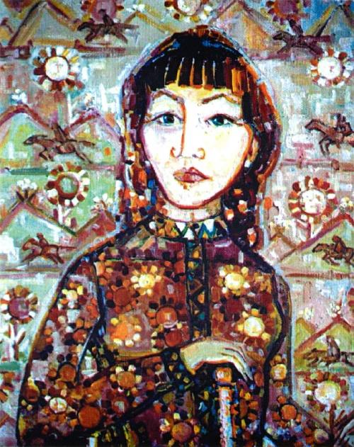 Self-portrait. 2002