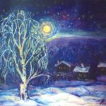 Winter Anzass. 1995. Oil on canvas