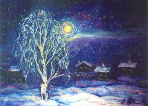 Winter Anzass. 1995. Oil on canvas