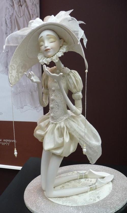 Art doll by Natalia Lopusova-Tomskaya