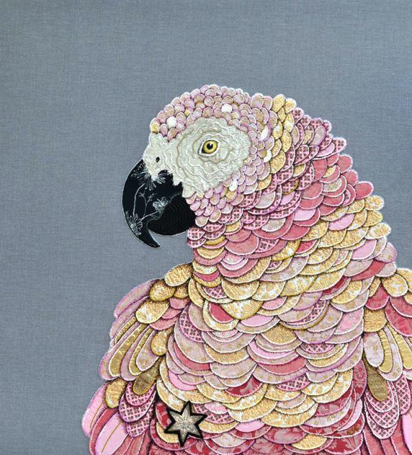 Creation by English textile artist Zara Merric