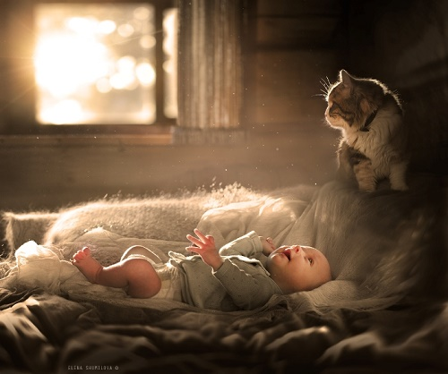 First meeting with a miracle. Russian self-taught photographer Elena Shumilova