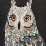 Textile animals by Karen Nicol