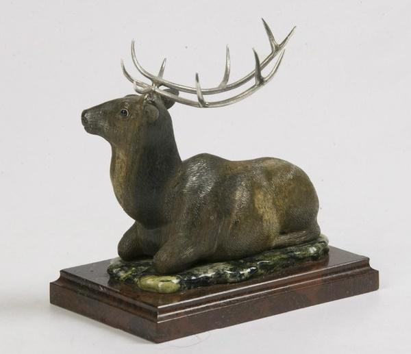 The figure of a deer