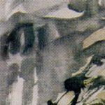 Landscape. 1932. Ink, mineral paints