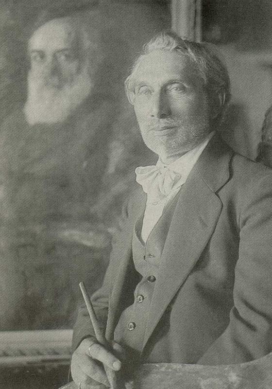 Leonid Osipovich Pasternak. (1862-1945). Photographer Robert Johanson