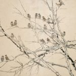 Painting by Chinese artist Xu Beihong 1895-1953
