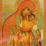 Our Lady of Eleus of Kikk. 1668. The State Tretyakov Gallery
