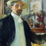Russian painter Leonid Osipovich Pasternak 1862-1945
