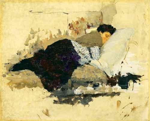 Sleeping. 1892