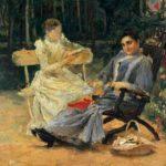 Sophia Ivanovna Stern. Petrovsky-Razumovskoye, 1891