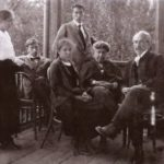 The family portrait. Photo (Leonid Pasternak - right)
