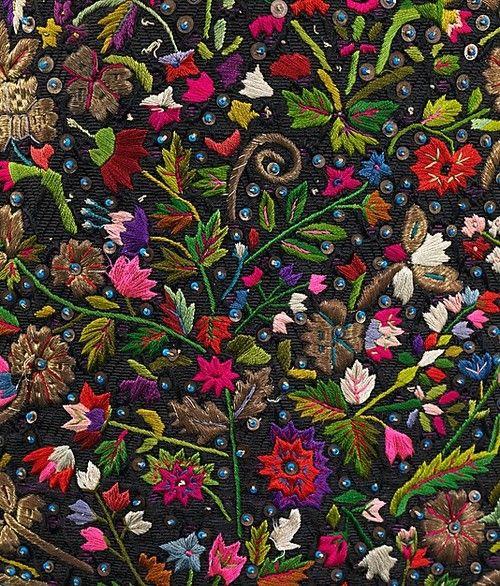 Beautiful folk embroidery