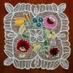 Exquisite Kalocsa embroidery