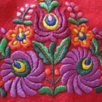Hand embroidery by Martha Fieber