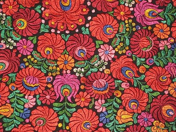 Stunningly beautiful folk embroidery