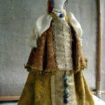 Slavic faceless folk doll magical power