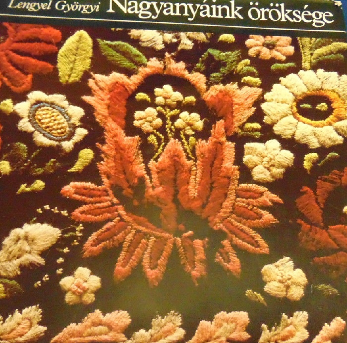 The book on the Hungarian folk embroidery