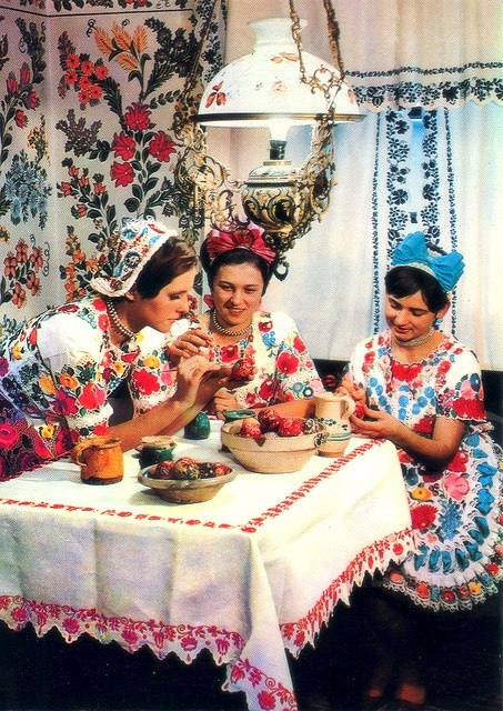Three crafts women