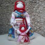 Veduchka folk doll