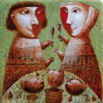 Gothic naive artist Pavel Nikolayev