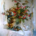 Autumn sketch. Artist V.P. Peshkun