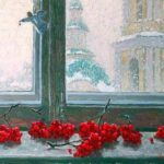 Vladimir Mullin. Rowan on the window