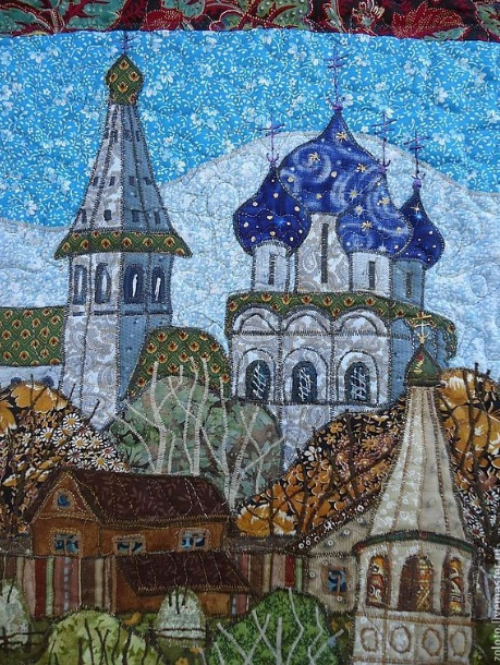 St. Nicholas Church and the Nativity Cathedral and people