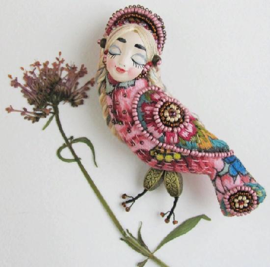 Maria Knutova mythological jewelry art