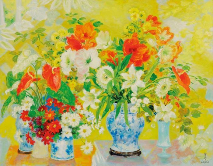 Amarallis. 115 x 146.5 cm
