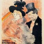 At the concert. 1896. Henri de Toulouse-Lautrec