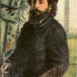 Auguste Renoir 'Portrait of Claude Monet'. 1875