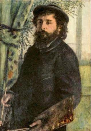 Auguste Renoir 'Portrait of Claude Monet'. 1875