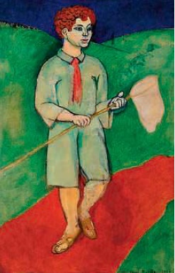 'Boy with a net'. 1907 by Henri Matisse