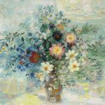 Dahlias. 1970. 73 x 92 cm