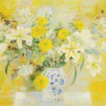 Delicate flowers. 1971. 97 х 130 см.