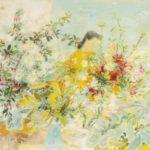 Flower seller. 1967. 89.5 x 115.6 cm