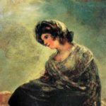 Francisco Goya 'Milkmaid from Bordeaux'. 1827