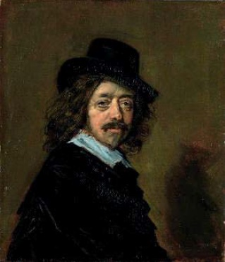 Franz Huls 'Self-portrait'. 1650