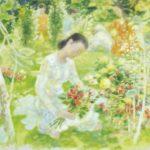 Garden. 73 x 100 cm