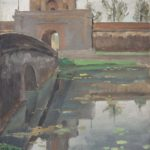 Gate of the citadel of Hue. 1933. 40 x 30 cm