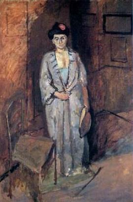 Henri Matisse 'Japanese woman'. 1901