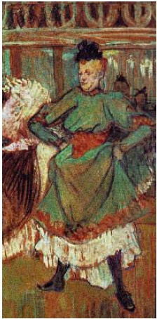 Henri de Toulouse-Lautrec 'Start quadrille at Moulin Rouge'. 1892